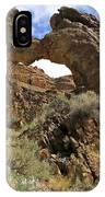 Desert Wildflowers Grand Arch  IPhone Case