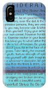Desiderata On Blue Moon Sunset IPhone Case