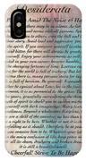 Desiderata On Grand Canyon Watercolor IPhone Case