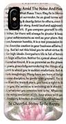 Desiderata On Lotus Watercolor IPhone Case