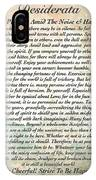 Desiderata On Mother Earth Watercolor IPhone Case