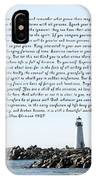 Desiderata Santa Cruz Lighthouse IPhone Case