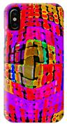 Designer Phone Case Art Colorful Rich Bold Abstracts Cell Phone Covers Carole Spandau Cbs Art 138 IPhone Case