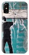 Destroy My Walls IPhone Case