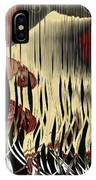 Destruction Of The Earth Abstract IPhone Case