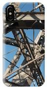 Detail Of Ferris Wheel At Vienna Prater IPhone Case