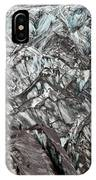Detail Of Icelandic Glacier IPhone Case