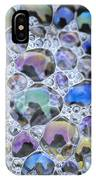 Detail Of Rainbow-colored Bubbles IPhone Case