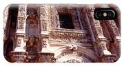 Detail Of The National Cathedral Of Guatemala IPhone Case