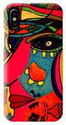 Determination - Face - Expression IPhone Case