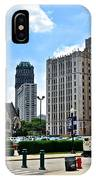 Detroit As Seen From Comerica IPhone Case