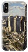 Detroit City Streets Michigan IPhone Case
