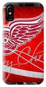 Detroit Red Wings Christmas IPhone Case