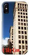 Detroit Sky Line IPhone Case