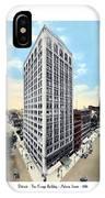 Detroit - The Kresge Building - West Adams Street - 1918 IPhone Case