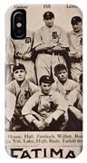 Detroit Tigers 1913 IPhone Case