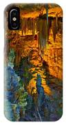 Devils Cavern Bari Greece IPhone Case