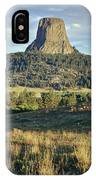 1m9806-devil's Tower 1 IPhone Case