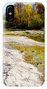 Devonian Fossil Gorge Coralville Lake Ia 1 IPhone Case
