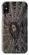Dew On The Web IPhone Case