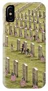 Dfw National Cemetery II IPhone Case