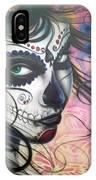 Dia De Los Muertos Chica IPhone Case