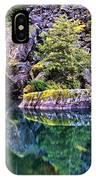 Diablo Lake Reflection IPhone Case
