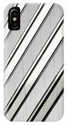 Diagonal Lines Of A Chicago Building IPhone Case