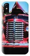 Diamond T Truck - Tomato Red IPhone Case