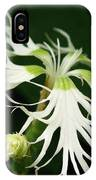 Dianthus Superbus - White IPhone Case