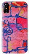 Dichotomy  Original Abstract Oil Painting By Regina Valluzzi IPhone Case