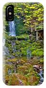 Dickson Falls In Fundy Np-nb IPhone Case