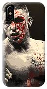 Diego Sanchez - War IPhone Case