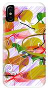 Digital Abstract 3 IPhone Case