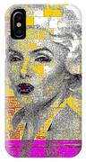 Digital Art Marilyn IPhone Case