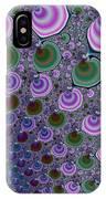 Digital Fractal Artwork Beautiful Colors IPhone Case