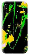 Digital Green Yellow Abstract IPhone Case