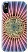 Digital Mandala Flower IPhone Case