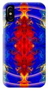 Dimensional Eyesight Abstract Living Artwork By Omaste Witkowski IPhone Case