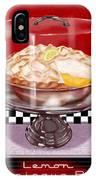 Diner Desserts - Lemon Meringue Pie IPhone Case
