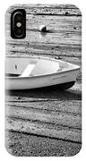 Dinghy At Low Tide IPhone Case