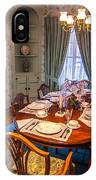 Dining Room And Dinner Table IPhone Case