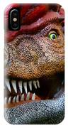 Dino In The Bronx Four IPhone Case
