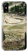 Dionysus Amphitheater IPhone Case