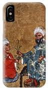 Dioscorides And Student IPhone Case