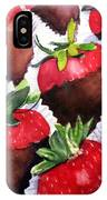 Dipped Strawberries IPhone Case