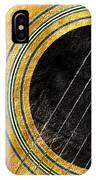 Diptych Wall Art - Macro - Gold Section 1 Of 2 - Vikings Colors - Music - Abstract IPhone Case