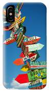 Directions Signs IPhone Case