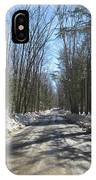 Dirt Road In March IPhone Case