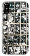 Dirty Wall Of Tiles And Paper Texture IPhone Case